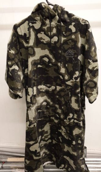 Mystic Poncho Velour 2021 - Camouflage