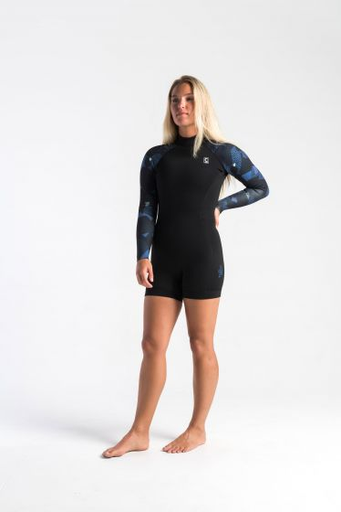 C-Skins Solace 3:2 Womens Boyleg Wetsuit Shortie front