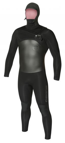 C Skins Wired 6/5mm Hooded Wetsuit 2018