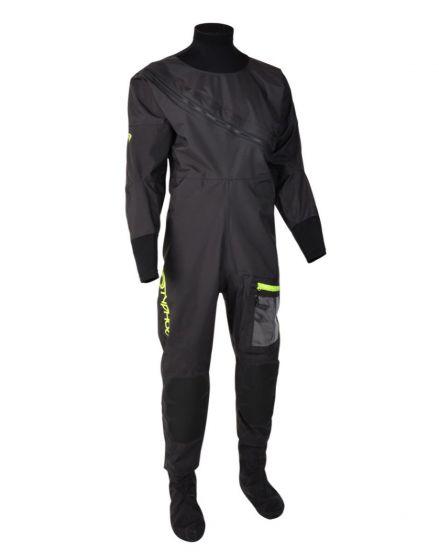 Typhoon Ezeedon 4 Mens Drysuit - Black