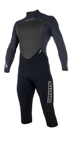 Mystic Brand 3/2mm Long Arm Short Leg Shorty Wetsuit