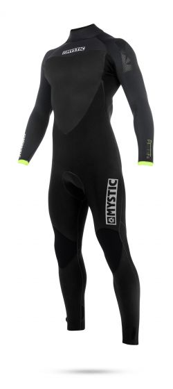 Mystic Majestic 5/3mm Back Zip Mens Winter Wetsuit - Large front