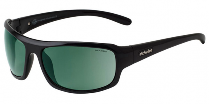 Dirty Dog Big Dog Sunglasses - Black/Grey Polarised