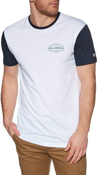 Billabong Liner Mens Surf T-Shirt - White