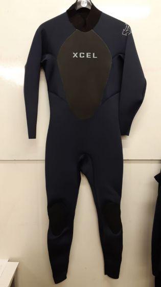 Xcel Axis 3/2mm Back Zip Mens Summer Wetsuit - Navy