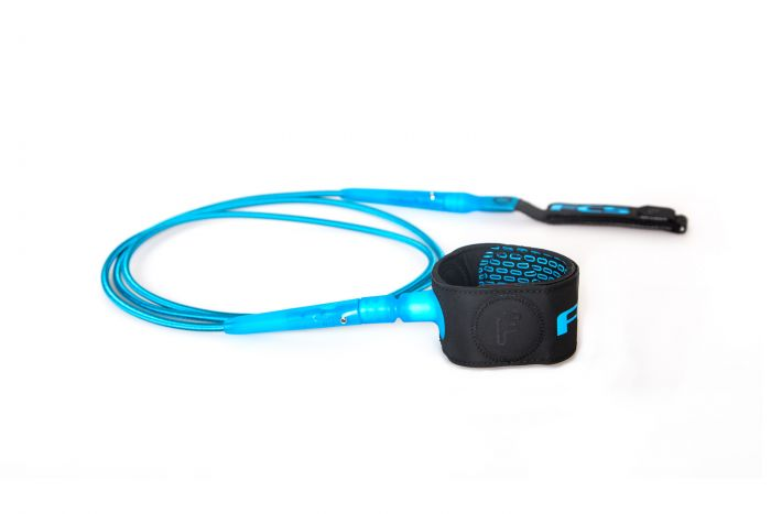 FCS 6' Freedom Leash - Blue 1