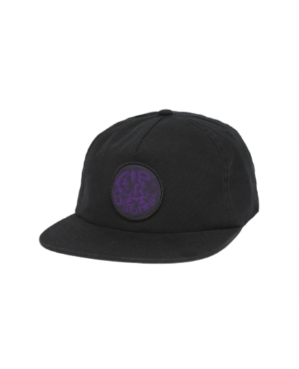 Rip Curl 5 Panel Madsteez Hat in Black