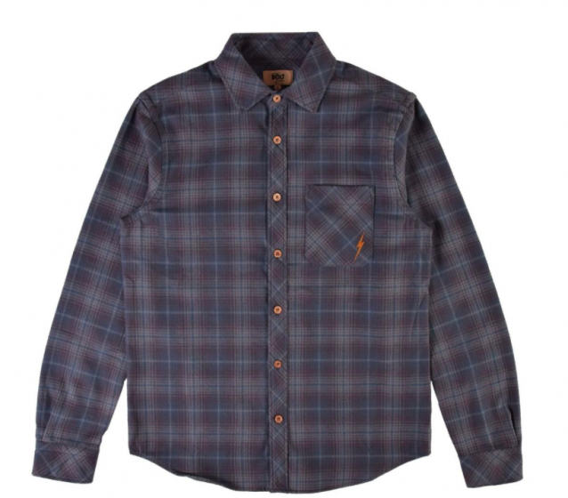 lightning bolt dean flannel