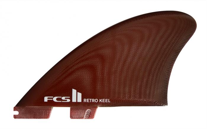 FCS II Retro Keel PG REd