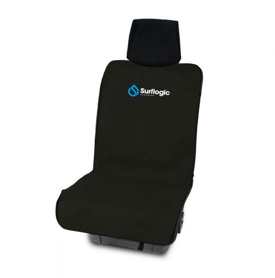 Surf Logic Single Waterproof car seat cover - Neoprene / Black - Front