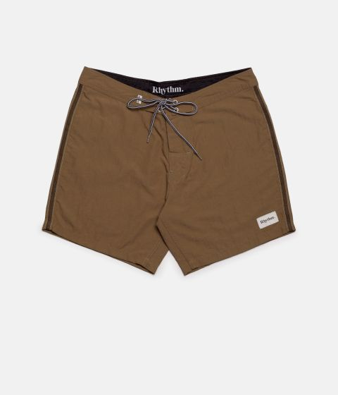 Rhythm Classic Trunk Shorts - Tobacco -28 inch