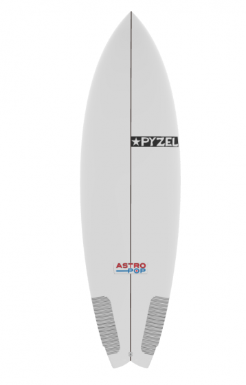 Pyzel Astro Pop 5ft 10 Surfboard - White