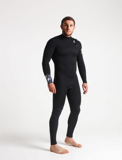 C Skins Session Chest Zip Mens Summer Wetsuit 2019