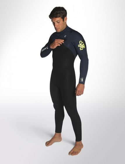 C Skins Legend 4/3mm Mens Spring/Summer Wetsuit 2018