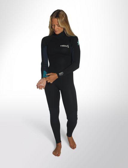C Skins Womens 5/4/3mm Surflite wetsuit