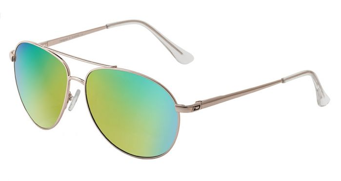 Dirty Dog Vango Polarised Sunglasses - GREEN FUSION MIRROR POLARISED