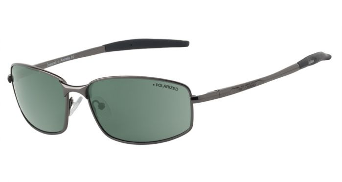 Dirty Dog Tiger Sunglasses - Gunmetal/Black Polarised