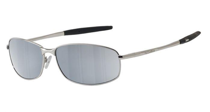 Dirty Dog Tiger Sunglasses - Silver/Silver Mirror Polarised