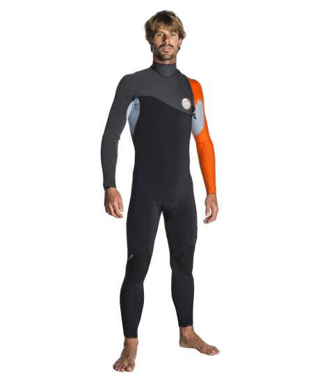 Rip Curl Flash Bomb 4mm Wetsuit Zip Free