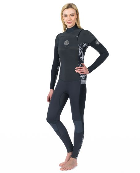 Rip Curl dawn patrol chest zip 5mm wetsuit
