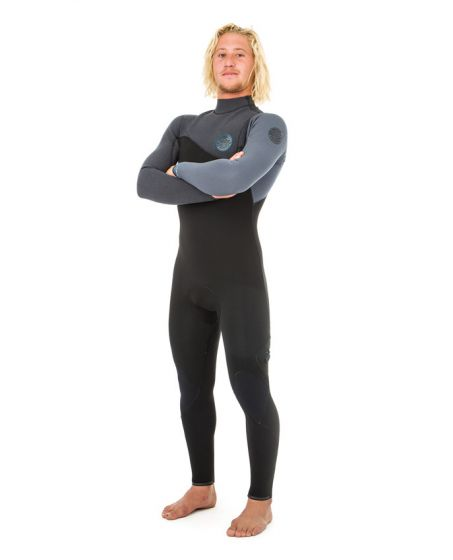 Rip Curl Flash Bomb 3/2mm Zip Free Wetsuit