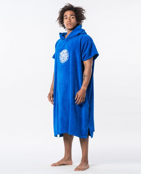 Rip Curl Hooded Wetsuit Changing Towel - Nautical Blue