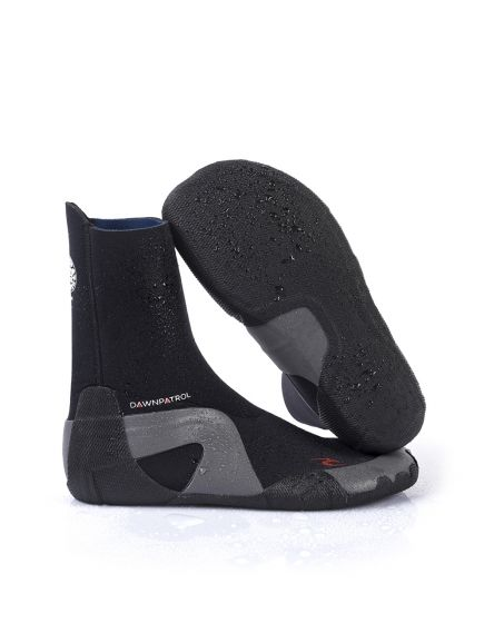 Rip Curl Dawn Patrol 5mm Round Toe Wetsuit Boot