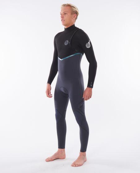 Rip Curl E Bomb 4/3 zip free wetsuit