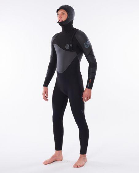 Rip Curl Heatseeker 5/4mm Hooded Wetsuit