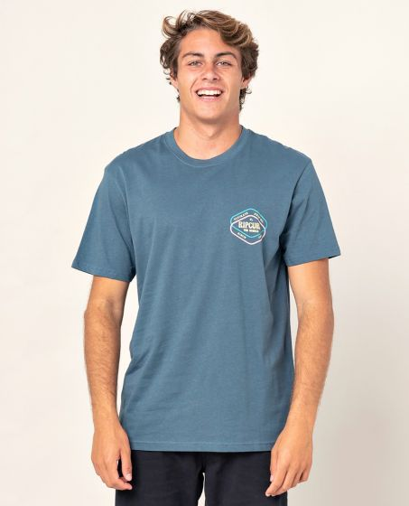 Rip Curl 'Twice D'Ams' Tee - 'Washed Navy'