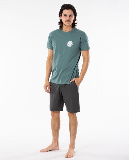 Rip Curl Wettie Essential T-Shirt in Bluestone