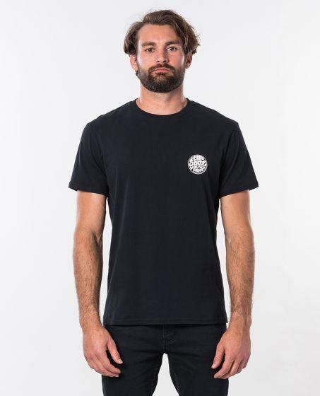 Rip Curl Original Wetty Short Sleeve Tee - Black