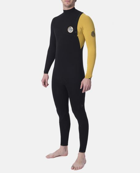 Rip Curl E Bomb 4/3mm Yellow Winter Wetsuit