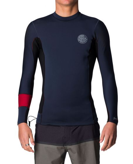 Rip Curl Aggrolite 1.5mm LS Neoprene Jacket - Red - Small