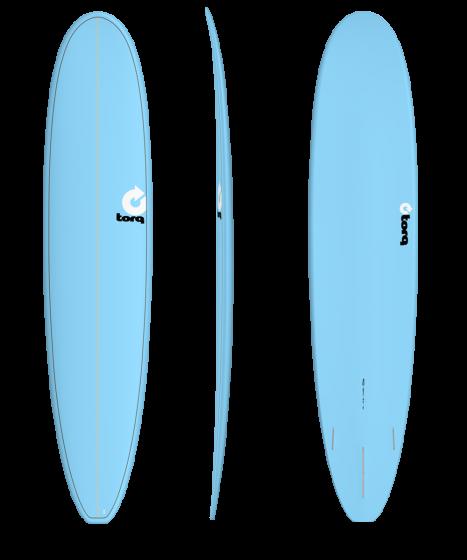 Torq 9'0 Longboard - Blue Pinline