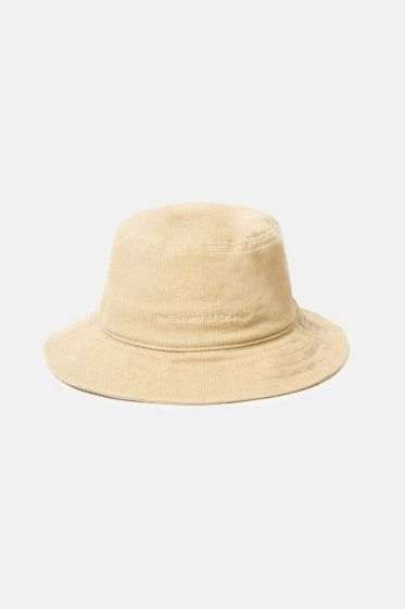 Rhythm Day-Tripper Corduroy Bucket Hat - Stone