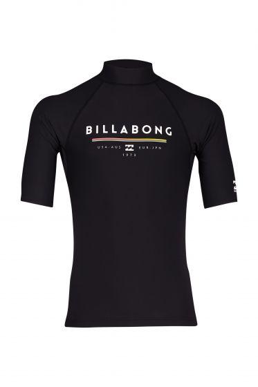 Billabong Unite Mens Lycra Rash Vest - Black