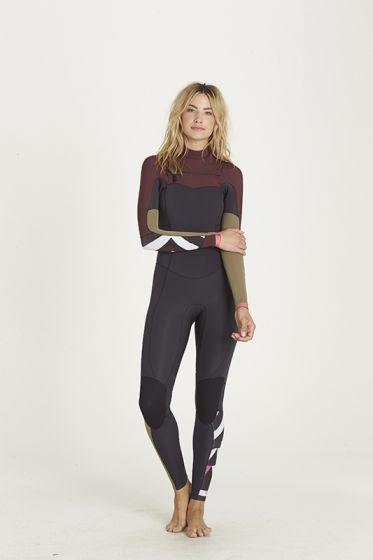 Billabong Salty Dayz 5/4mm Womens Winter Wetsuit 2018 - Mulberry