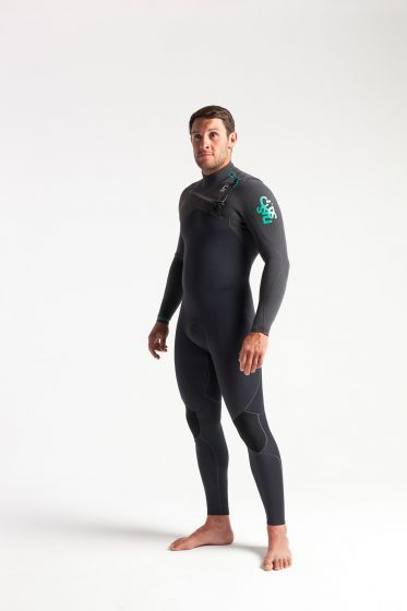 C Skins ReWired 4/3mm Chest Zip Wetsuit 2020 - Anthracite