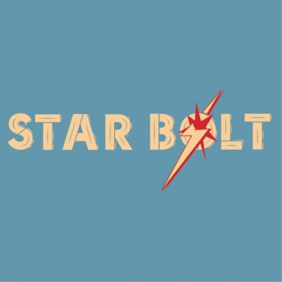 Lightning Bolt Mens Star Bolt Tee - Blue
