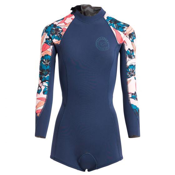 Billabong 2mm spring fever wetsuit 2018 - slate