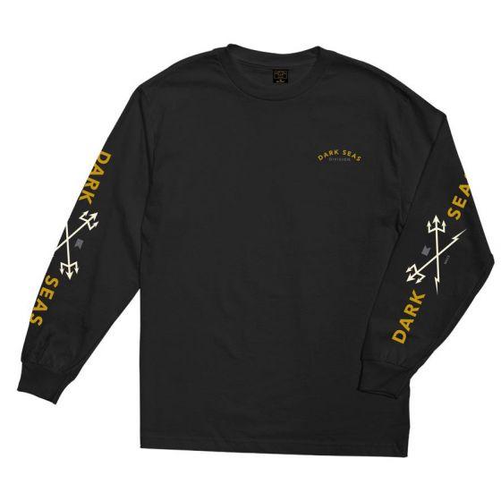 Dark Seas Headmaster L/ S Mens T-Shirt - (Black)