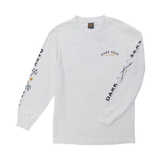 Dark Seas Headmaster L/S Mens T-Shirt - (White)