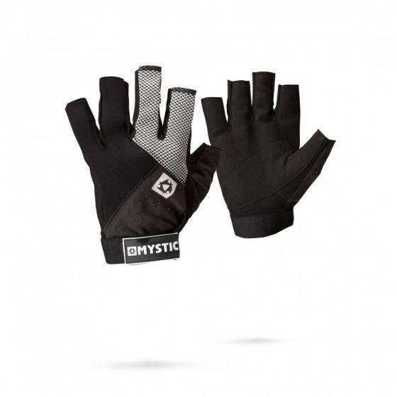 Mystic Short Finger Neoprene Junior Rash Gloves - Black