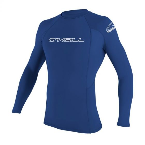 O'Neill Mens Basic Skins Long Sleeve Rash Vest