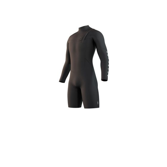 Mystic The One 3/2mm Long Arm Shorty Wetsuit 2021 - Black