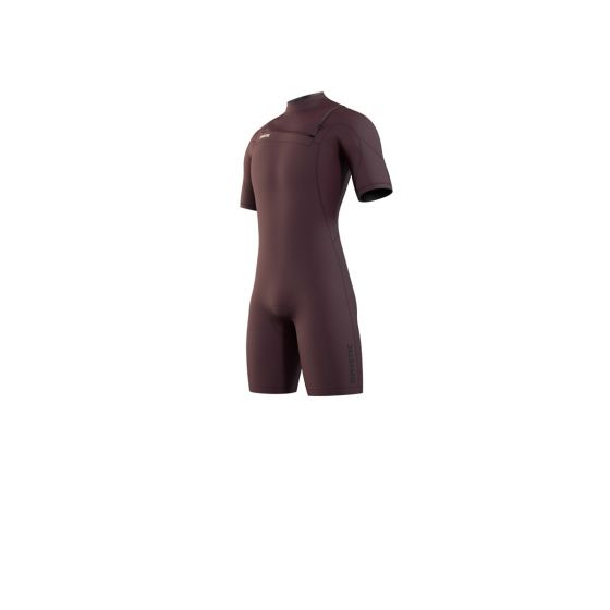Mystic Mens Marshall Shorty 3/2mm Wetsuit 2021 - Merlot - Front