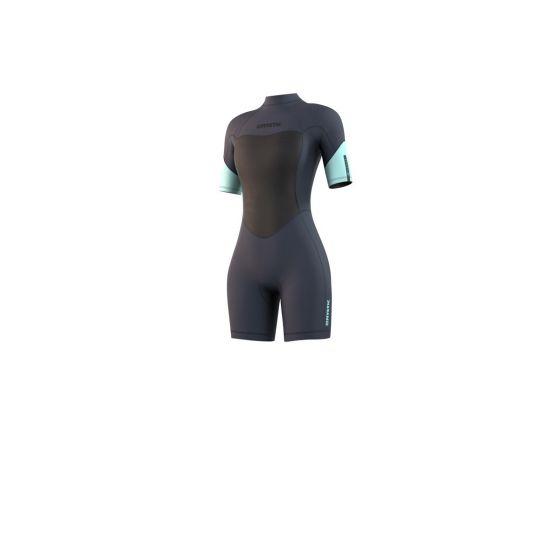 Mystic Brand 3/2mm Womens Shorty Wetsuit 2021 - Night Blue