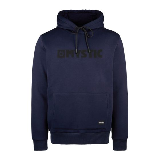 Mystic Brand Mens Sweat Hoodie - Night Blue - front
