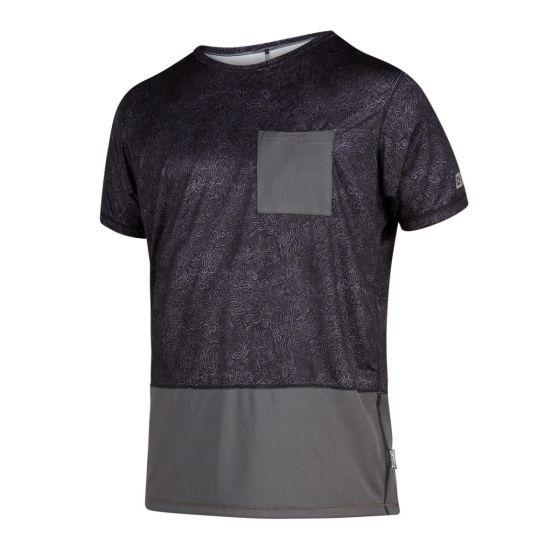 Mystic Shred Short Sleeve Quickdry T-Shirt - Phantom Grey